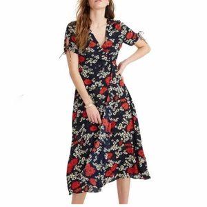 Madewell Hillside Daisies Midi Dress